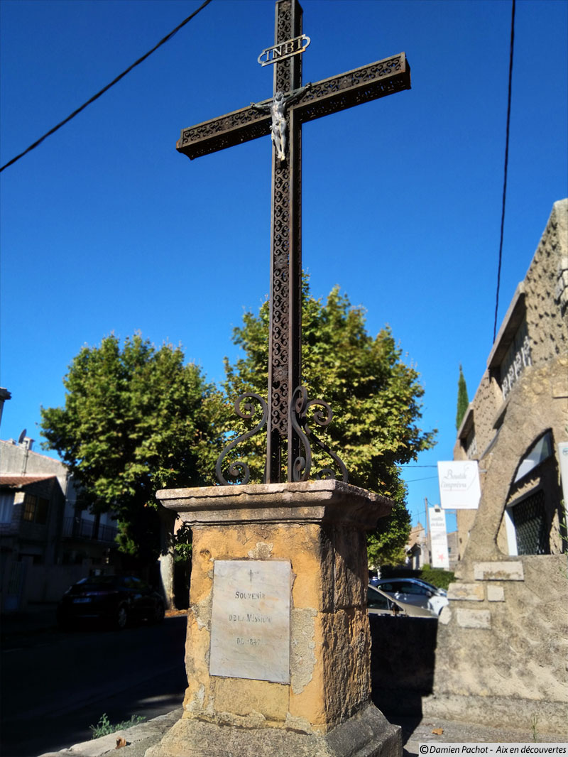 La croix de la mission de 1847