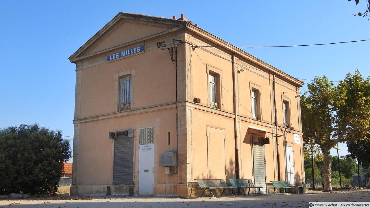 L'ancienne gare des Milles
