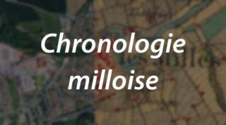 Chronologie milloise